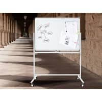 Master of Boards Stanford Mobiel Whiteboard Aluminium, kunststof 90 x 120 cm