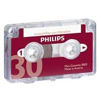 Philips Mini Cassetteband LFH0005 Rood