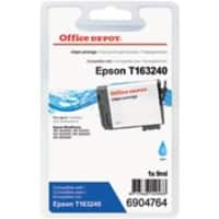 Office Depot Compatibel Epson 16XL Inktcartridge T163240 Cyaan