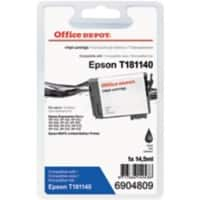 Office Depot Compatibel Epson 18XL Inktcartridge T181140 Zwart